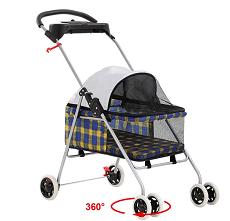 BestPet-Pet-Stroller-4-Wheels-Posh-Folding-Waterproof-Portable-Travel-Cat-Dog-Stroller-with-Cup-Holder Masz wózek dla kota?