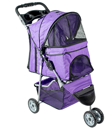 VIVO-Three-Wheel-Pet-Stroller-for-Cat-Dog-and-More-Fordable-Carrier-Strolling-Cart Masz wózek dla kota?